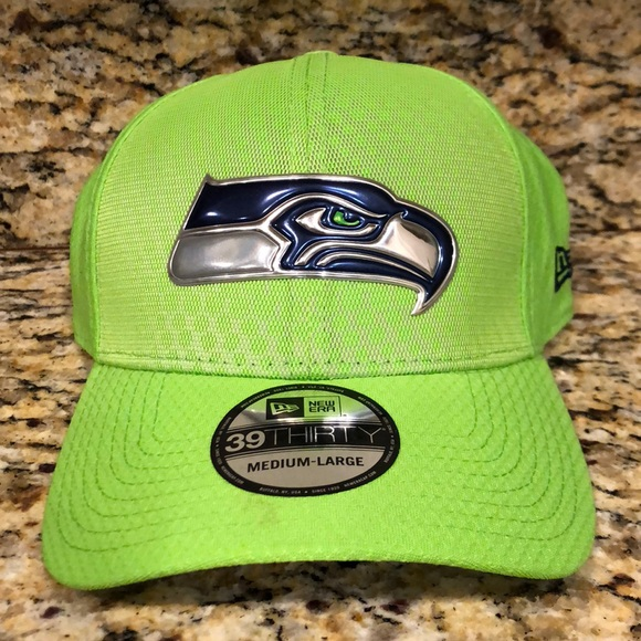 7c007f22353816 New Era Accessories | Seattle Seahawks Color Rush Flexfit Cap | Poshmark